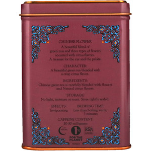 Харни энд сонс, HT Tea Blend, Chinese Flower, 20 Tea Sachets, 1.4 oz (40 g) отзывы покупателей