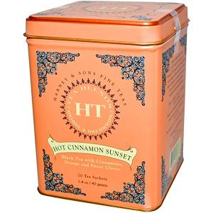 Harney & Sons, «Горячий коричный закат», 20 пакетиков, 1.4 унций (40 г) инструкция, применение, состав, противопоказания