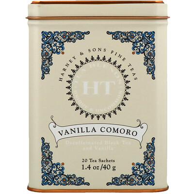 Фото - HT Tea Blend, чай со вкусом коморской ванили, 20 чайных саше, 40 г (1,4 унции) sport белковая смесь премиум качества со вкусом ягод 801 г 28 3 унции