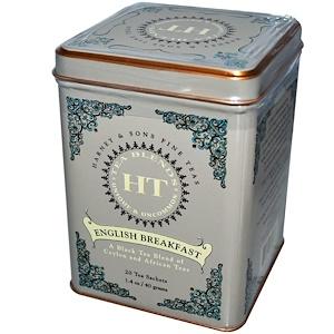 Harney & Sons, Английский завтрак, 20 чайных пакетиков, 1.4 унций (40 г) инструкция, применение, состав, противопоказания