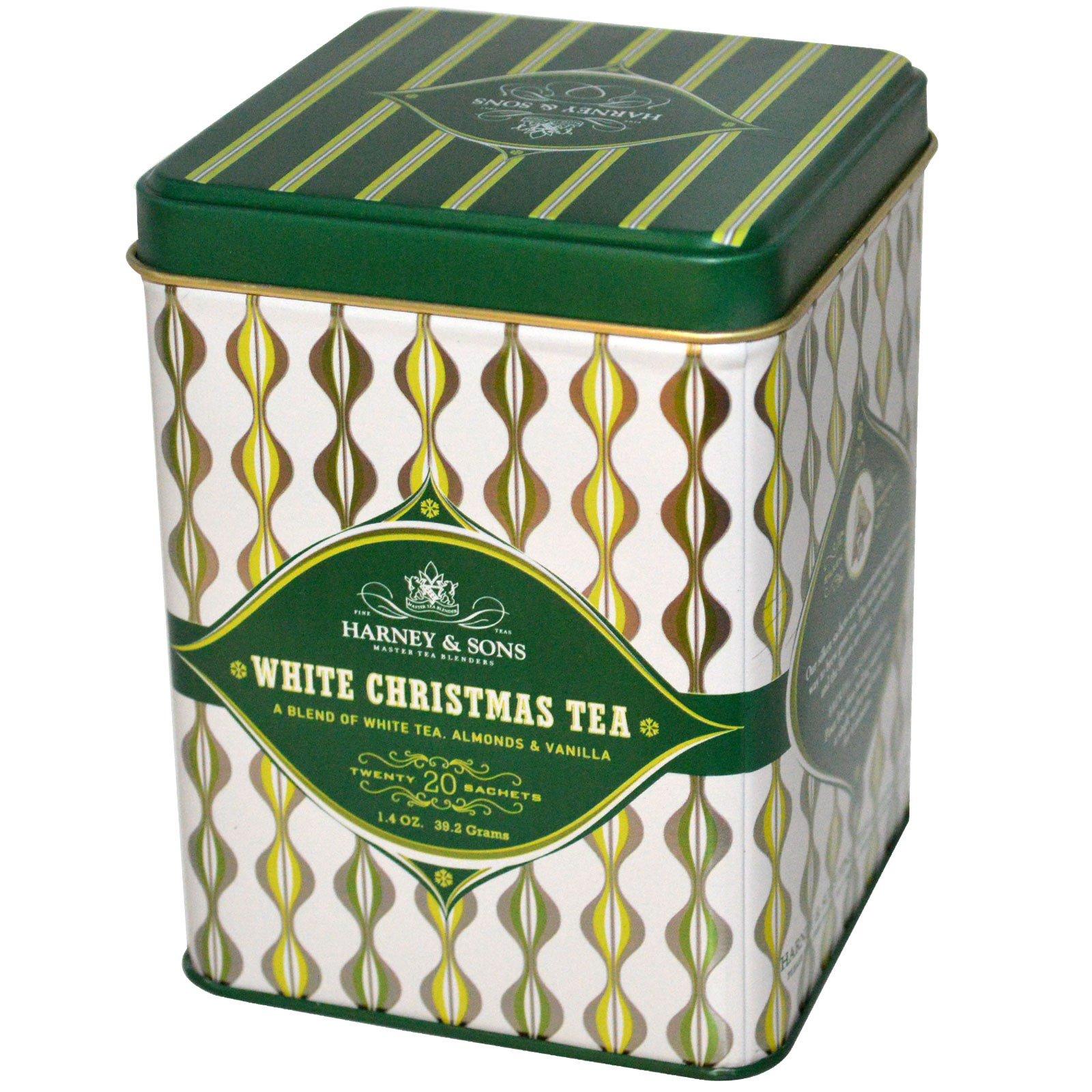 Harney & Sons, White Christmas Tea, 20 Sachets, 1.4 oz (39.2 g) - iHerb.com