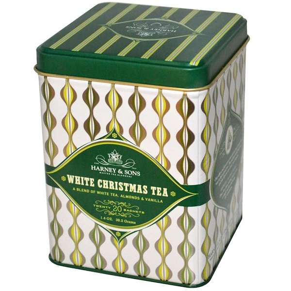Harney & Sons, White Christmas Tea, 20 Sachets, 1.4 oz (39.2 g) (Discontinued Item)