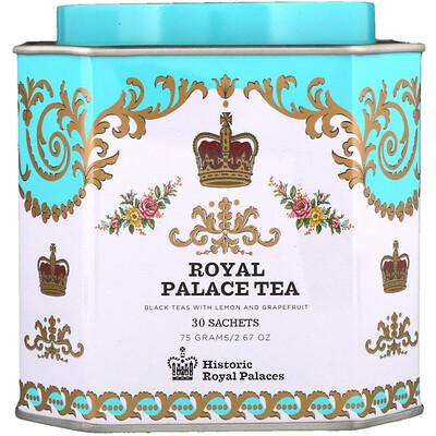 Купить Harney & Sons Черный чай с лимоном и грейпфрутом, 30 пакетиков по 2, 67 унции (75 г)