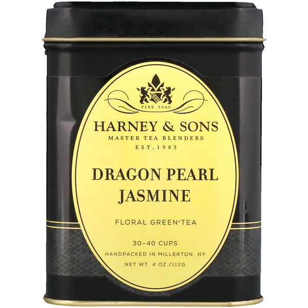 Harney & Sons, Dragon Pearl, Jasmine Tea, 4 oz