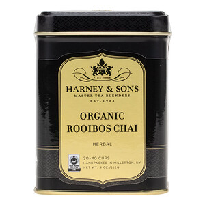 Harney & Sons, Organic Rooibos Chai, Herbal Tea, 4 oz (112 g)