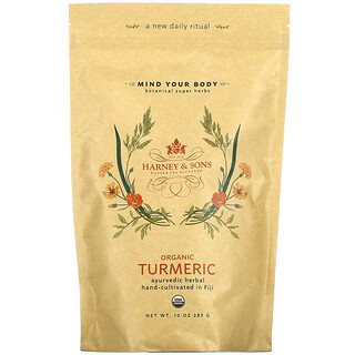 Harney & Sons, Botanical Super Herbs, Organic Turmeric, 10 oz (283 g)