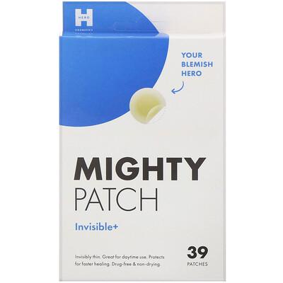 Купить Hero Cosmetics Mighty Patch, невидимые+, 39шт.