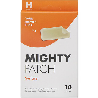Hero Cosmetics, Mighty Patch, Surface, 10 Strips