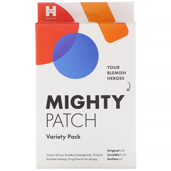 Hero Cosmetics, Mighty Patch, Assortiment, 26 pièces