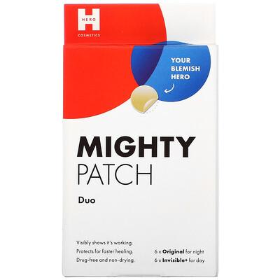 Купить Hero Cosmetics Mighty Patch Duo, 6 Original + 6 Invisible+ Patches