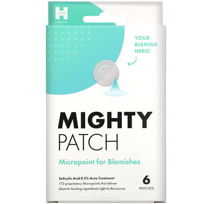 Купить Hero Cosmetics Mighty Patch, Micropoint for Blemishes, 6 Patches