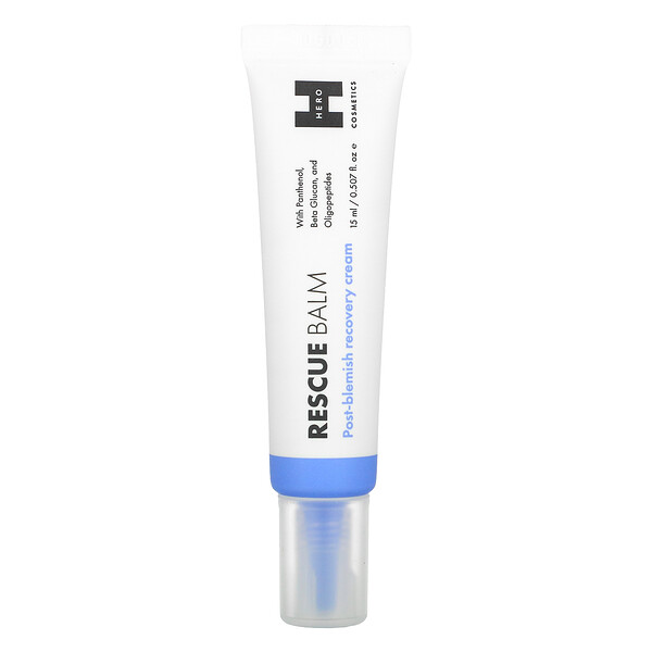 Rescue Balm, Post Blemish Recovery Cream, 0.507 fl oz (15 ml)