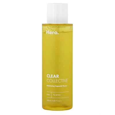Купить Hero Cosmetics Clear Collective, Balancing Capsule Toner, 4.40 fl oz (130 ml)