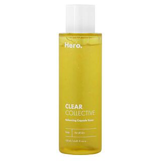 Hero Cosmetics, Clear Collective, Balancing Capsule Toner, 4.40 fl oz (130 ml)