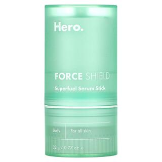 Hero Cosmetics, Force Shield, Superfuel Serum Stick, 0.77 oz (22 g)