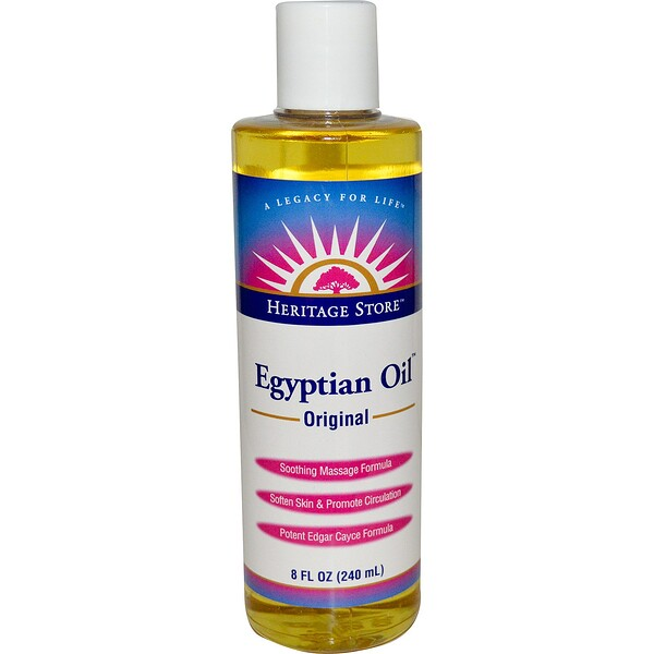 Heritage Store, Egyptian Oil, Original, 8 fl oz (240 ml)