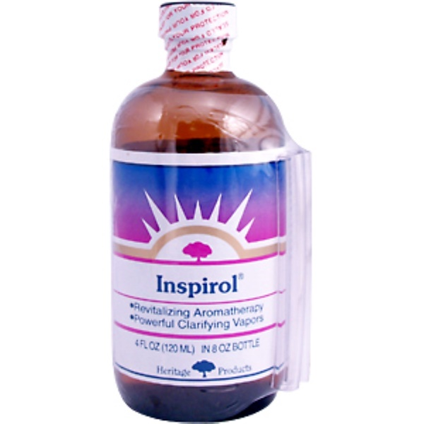 Heritage Store, Inspirol, 4 fl oz (120 ml) (Discontinued Item)