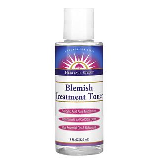 Heritage Store, Blemish Treatment Toner, 4 fl oz (120 ml)