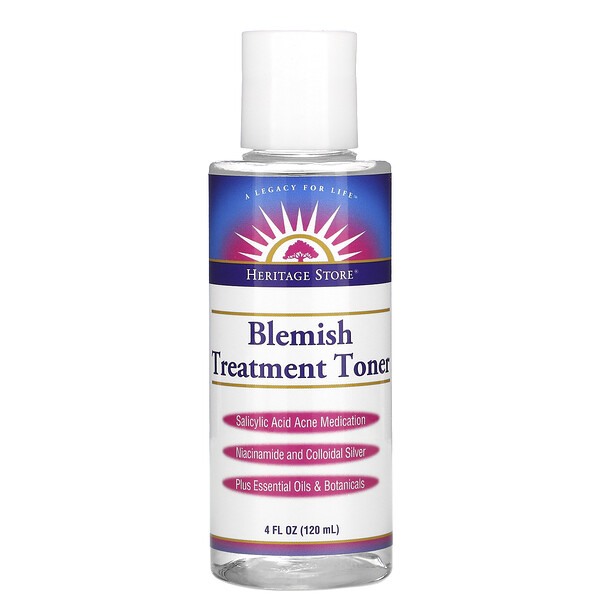 Blemish Treatment Toner, 4 fl oz (120 ml)
