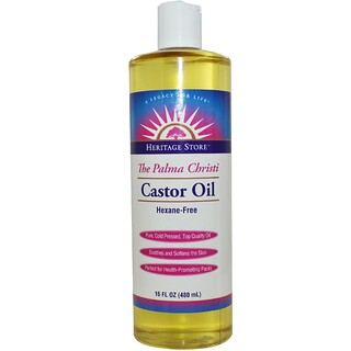 Heritage Store, Castor Oil, 16 fl oz (480 ml)
