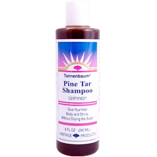 Heritage Store, Pine Tar Shampoo, 8 fl oz (240 ml) (Discontinued Item)