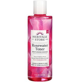 Heritage Store, Rosewater Toner, 8 fl oz (237 ml)