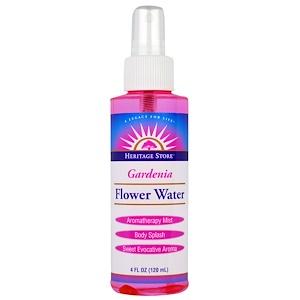 Хэритадж Продактс, Gardenia, Flower Water, Atomizer Mist Sprayer, 4 fl oz (120 ml) отзывы
