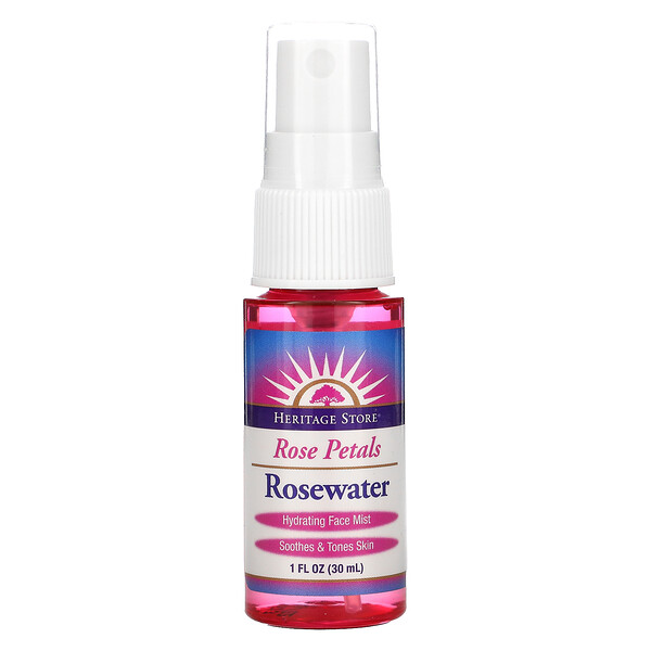 Rose Petals, Rosewater, 1 oz (30 ml)