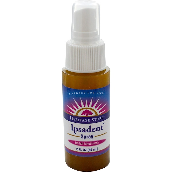 Heritage Store, Ipsadent Spray, 2 fl oz (60 ml) (Discontinued Item)