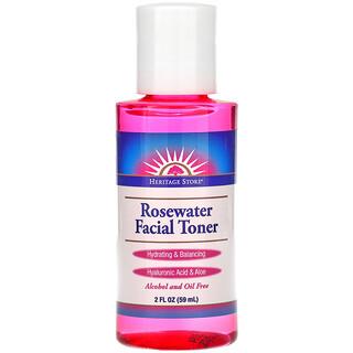 Heritage Store, Rosewater Facial Toner, 2 fl oz (59 ml)