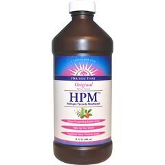 Heritage Store, HPM,過氧化氫漱口水,原味,16液量盎司(480毫升)