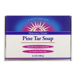 Heritage Store, Pine Tar Soap, 3.5 oz (100 g)