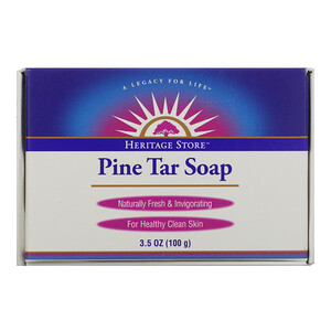 Heritage Store, Pine Tar Soap, 3.5 oz (100 g)