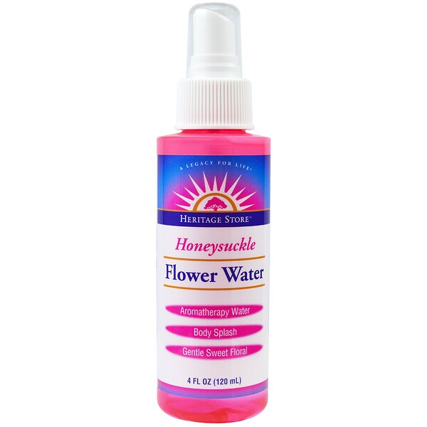 Flower Water, Honeysuckle, 4 fl oz (120 ml)
