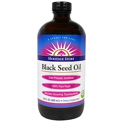 Heritage Store, Heritage Store, Black Seed Oil, 16 fl oz (480 ml)