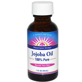 Heritage Store, 100% Pure Jojoba Oil, 1 fl oz (30 ml)