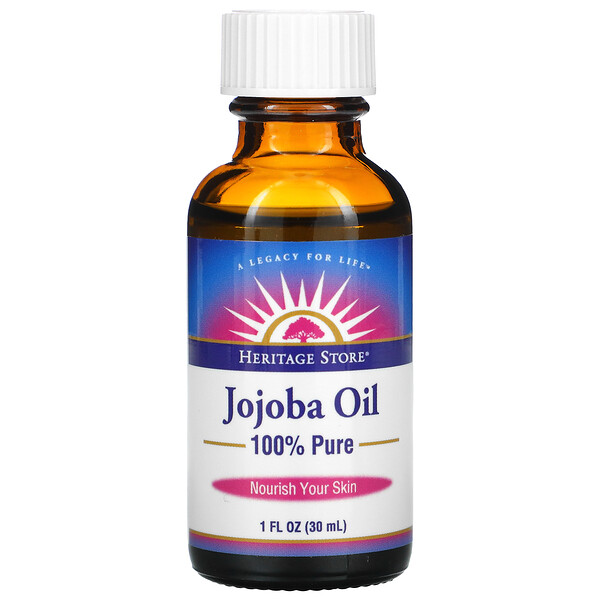 100% Pure Jojoba Oil, 1 fl oz (30 ml)