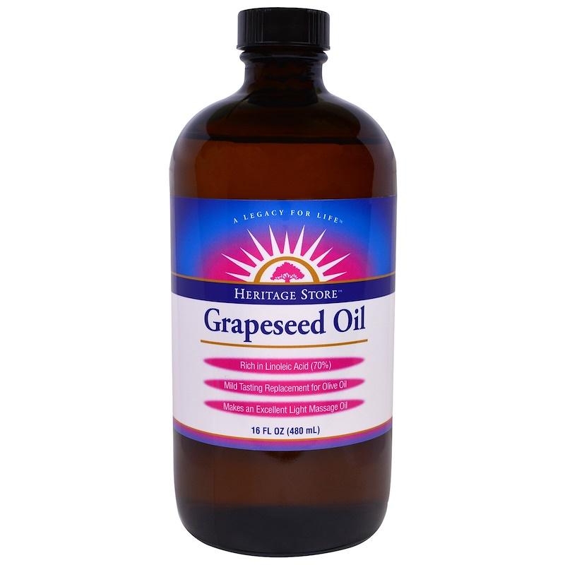 Grapeseed Oil, 16 fl oz (480 ml)