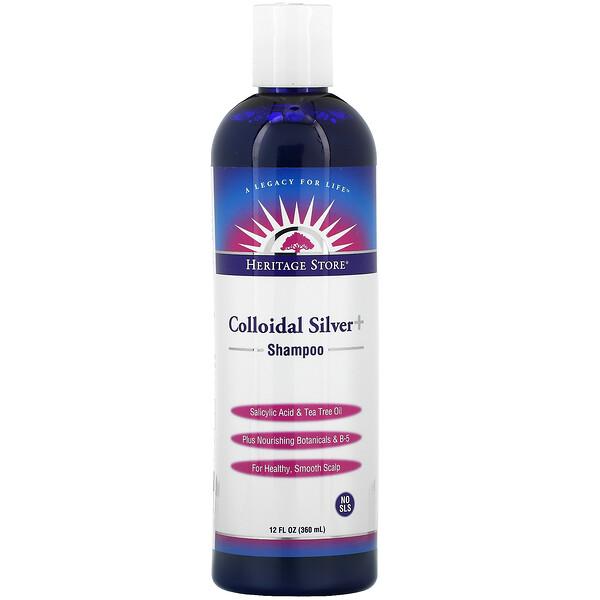 Colloidal Silver Shampoo, 12 fl oz (360 ml)