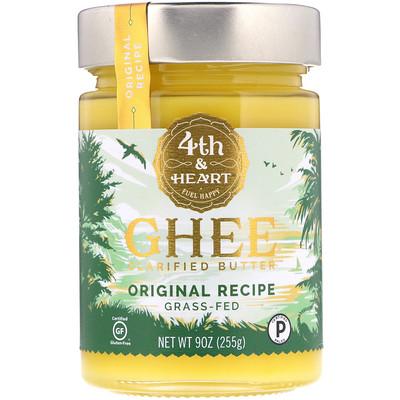 Купить Очищенное топленое масло гхи, экологически чистое, по оригинальному рецепту, 255г (9 унций)