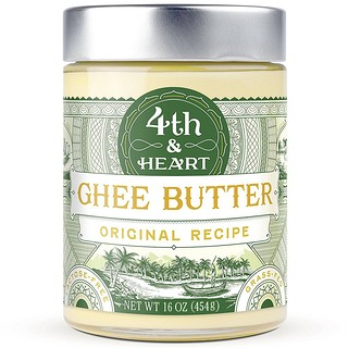 4th & Heart, Mantequilla de Ghee, Receta Original, 16 oz (454 g)