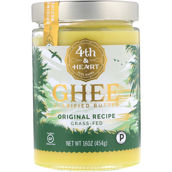 4th & Heart, Beurre de ghee, recette originale, 454 g (16 oz)