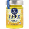 4th & Heart, Ghee Clarified Butter, Grass-Fed, Turmeric, 9 oz (255 g)