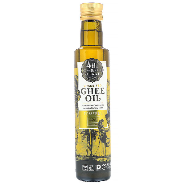 4th & Heart, Ghee Oil, Truffle, 8.5 fl oz (250 ml)