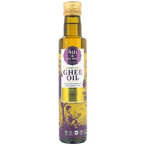 4 энд Харт, Ghee Oil, Garlic, 8.5 fl oz (250 ml) отзывы