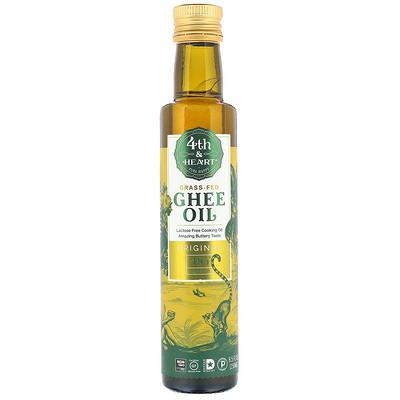 4th & Heart Ghee Oil, Original, 8.5 fl oz (250 ml)