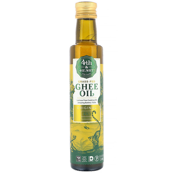 Ghee Oil, Original, 8.5 fl oz (250 ml)