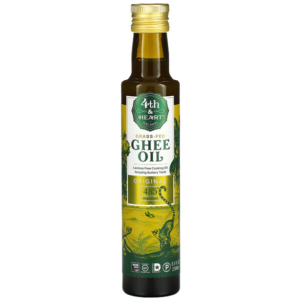 Ghee Oil, Grass-Fed, Original, 8.5 fl oz (250 ml)