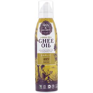4 энд Харт, Ghee Oil Spray, Garlic, 5 fl oz (148 ml) отзывы