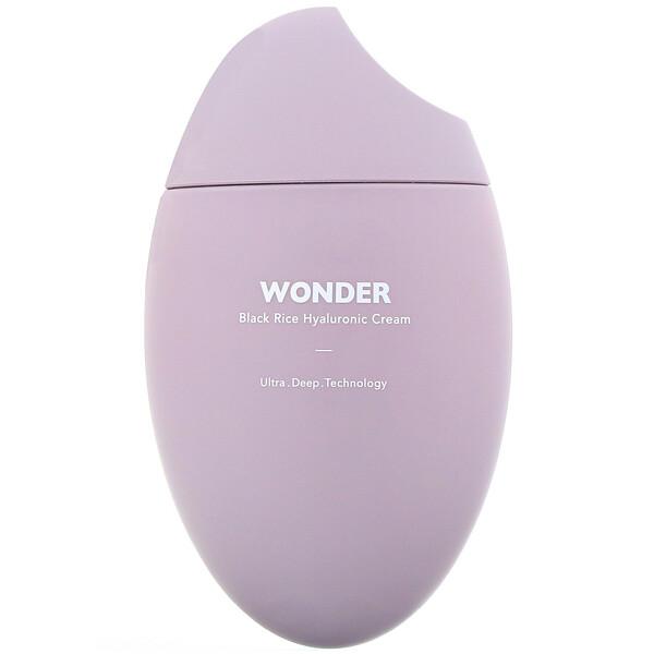 Wonder, Black Rice Hyaluronic Cream, 1.6 fl oz (50 ml)
